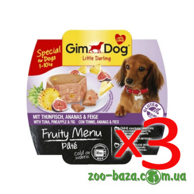 GimDog LD Fruity Menu Pate Mix