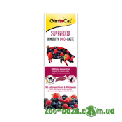 GimCat Superfood Immunity Duo-Paste Liver and Forest Berries