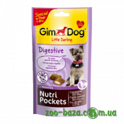 GimDog Little Darling Nutri Pockets Digestive