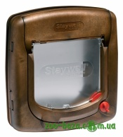 Staywell Manual 4 Way Locking Deluxe Cat Flap