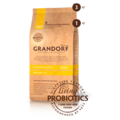 Grandorf Living Probiotics 4 Meat & Brown Rice Mini