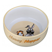 Trixie Honey & Hopper Ceramic Bowl