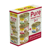 GimDog Little Darling Pure Delight Tuna Set