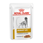 Royal Canin Urinary S/O Moderate Calorie Dog Pouch Slices in Gravy