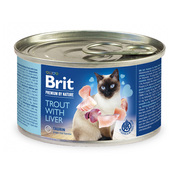 Brit Premium by Nature Trout with Liver