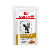 Royal Canin Urinary S/O Moderate Calorie Morsels in Gravy