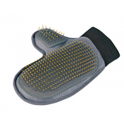 Trixie Coat Care Glove with Wire Bristles