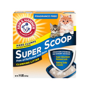 Arm & Hammer Super Scoop Clumping Litter Fragrance Free