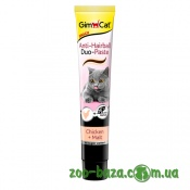 GimCat Anti-Hairball Duo Paste Chicken&Malt