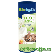 Biokat's Deo Pearls White Flowers