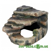 Trixie Reptiland Corner Rock with Cave and Platform