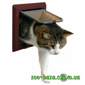 Trixie 4-Way Cat Flap with Tunnel