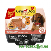 GimDog LD Fruity Menu Pate with Beef&Papaya