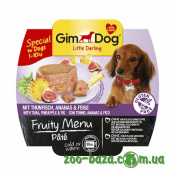 GimDog LD Fruity Menu Pate with Tuna, Pineapple&Fig
