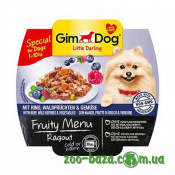 GimDog LD Fruity Menu Ragout with Beef, Wild Berries&Vegetables