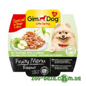 GimDog LD Fruity Menu Ragout with Turkey, Apple&Vegetables