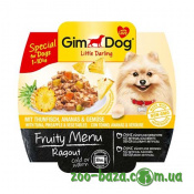 GimDog LD Fruity Menu Ragout with Tuna, Pineapple&Vegetables