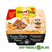GimDog LD Fruity Menu Ragout with Lamb, Apricot&Vegetables