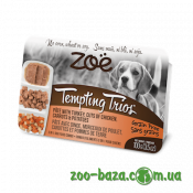 ZOE Tempting Trios with Turkey, Сuts of Chicken, Carrots&Potatoes
