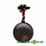 Hagen Bomber Tug Ball Black with LED