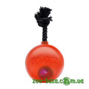 Hagen Bomber Tug Ball Orange with LED
