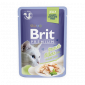 Brit Premium Cat Pouch with Trout Fillets in Jelly