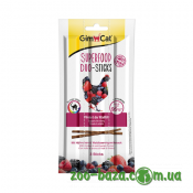 GimCat Superfood Duo-Sticks Chicken & Wild Berries