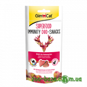 GimCat Superfood Immunity Duo-Snacks Venison & Prickly Pears