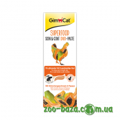 GimCat Superfood Skin&Coat Duo-Paste Chicken & Papaya