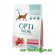 OptiMeal High in Veal Adult Cats