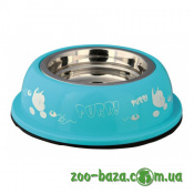 Trixie Stainless Steel Bowl with Plastic Holder