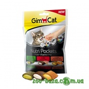GimCat Nutri Pockets Malt-Vitamin Mix