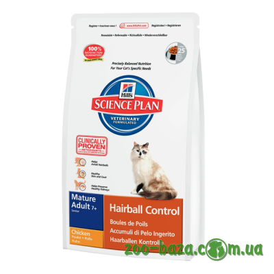 Hill's SP Feline Mature Adult 7+ Hairball Control