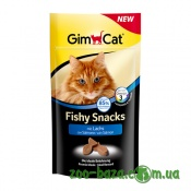 GimCat Fishy Snacks mit Lachs